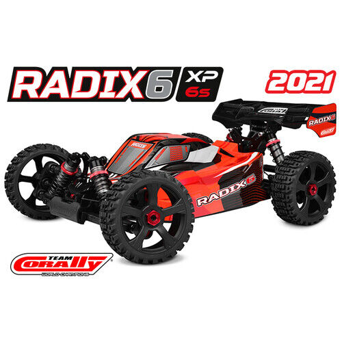 Team Corally - 2021 version RADIX XP 6S - 1/8 Buggy EP - RTR - Brushless Power 6