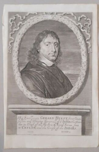 portrait Gerard Hulst first Director General of the Indies Churchill 1703