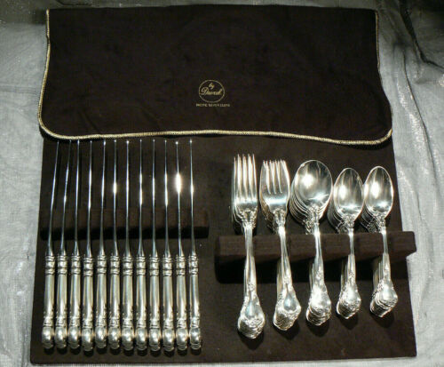 Gorham Chantilly Sterling Silver Service for 12 / 81 Piece Flatware No Monogram