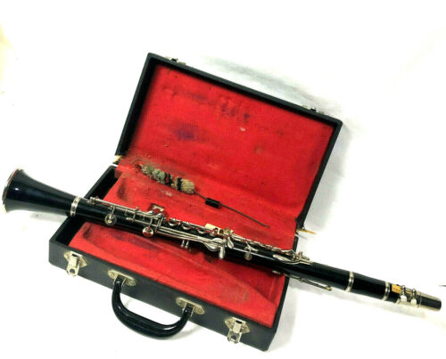 Vintage CLARINET English Made in Case