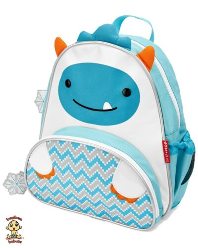 Skip Hop Zoo Little Kid Backpack YETI design Authentic and Brand New