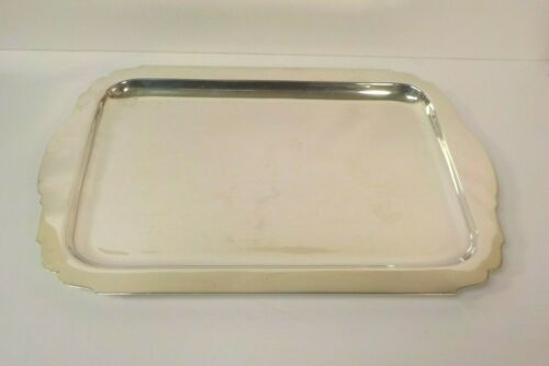 """CARTIER Sterling Silver 16"""" Tray #759, 1530 grams"""