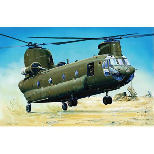 Trumpeter 01622 1/72 CH-47D CHINOOK *AUS DECAL* - TR01622