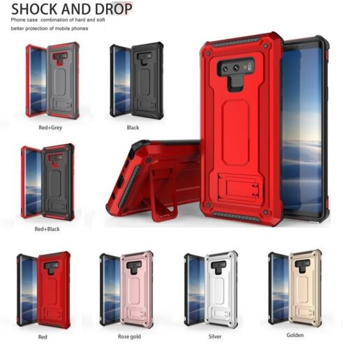 Heavy Duty Shockproof Stand Premium Case Cover For Samsung S9 S8 Plus