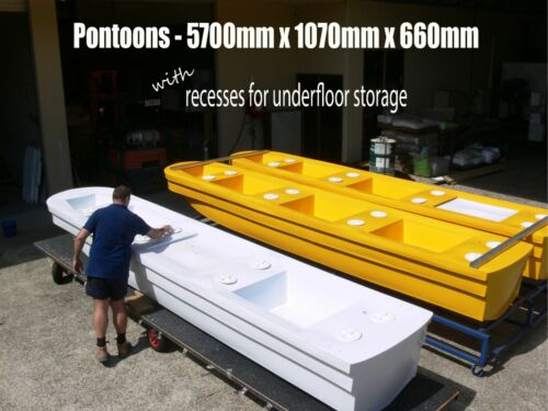HOUSE or PARTY BOAT PONTOON  - $2295 each- 100% Australian Made  <br/> We can freight INTERSTATE