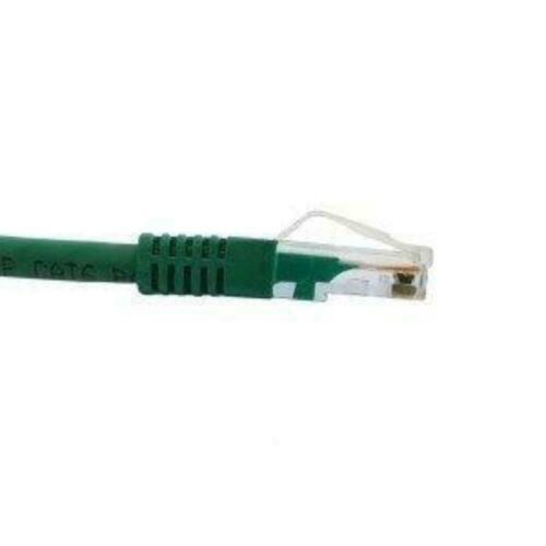 3m Cat 5e Gigabit Ethernet Network Patch Cable Green Rugged and Durable Boot