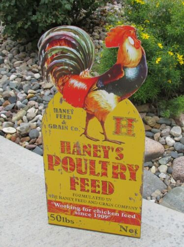 ROOSTER Poultry SIGN*Primitive Home/French Country Kitchen/Farmhouse/Farm Decor
