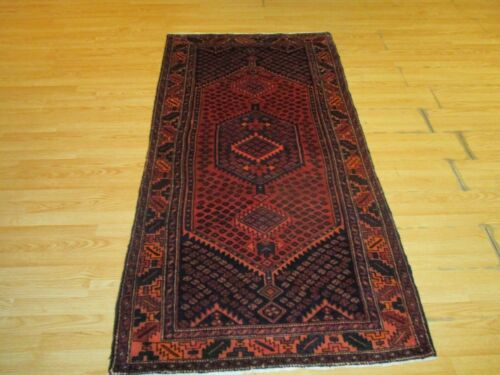 4x7 Persian ABC Collection Handmade knotted  Wool Rug 586205