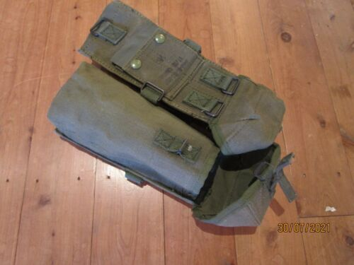 MAGAZINE POUCH X 2 , L2A1 SLR-L4 , NEW NEVER ISSUED.Surplus - 36075