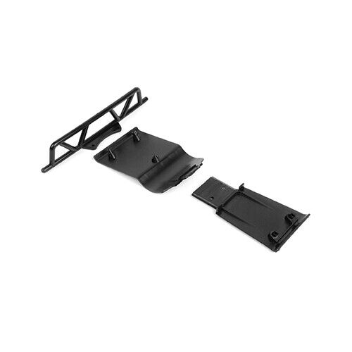XRAY SCX COMPOSITE FRONT & REAR BUMPERS (1+2) - XY321201