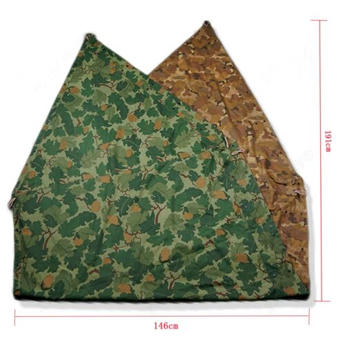 VIETNAM WAR US ARMY MITCHELL CAMOUFLAGE TENT COVER CLOTH CANVAS