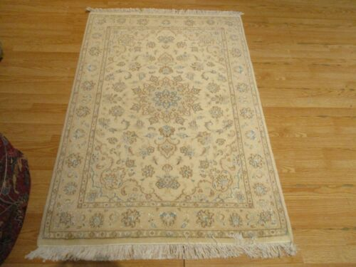 3x5 VERY UNIQUE NAIN  HANDMADE-KNOTTED WOOL RUG 583022