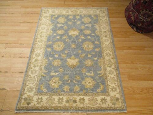 3x5 VERY UNIQUE FINE OUSHAK DESIGN HANDMADE-KNOTTED WOOL RUG 581215