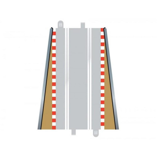 SCALEXTRIC BORDERS & BARRIERS LEAD-IN/OUT (FOR C 8025) - 57-C8233