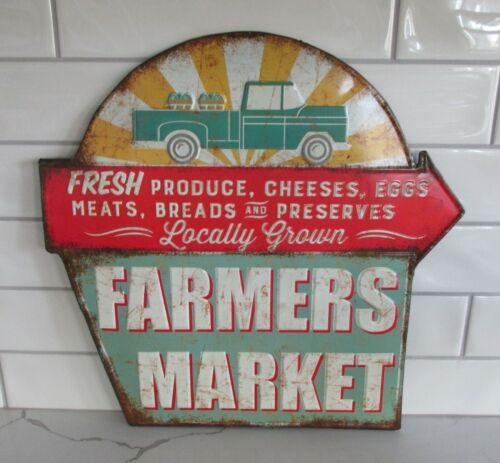 Farmers Market Wall SIGN*Primitive Home/French Country Kitchen/Farmhouse Decor