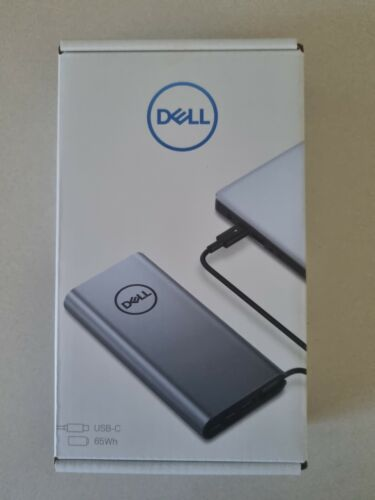 Dell PW7018LC Power bank Silver 65 Wh - USB-C/A Suits Laptop & Phone - NEW