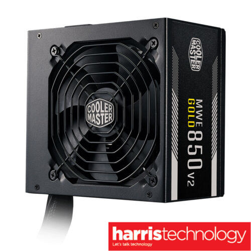 Cooler Master MWE Gold 850 V2 80 Plus Gold Certified ATX Power Supply Unit