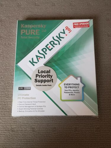 Kaspersky Pure 2.0 Total Security 1 PC 1 Year