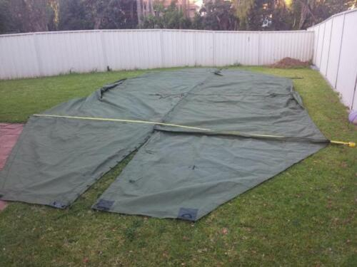 Army tentage awning 1972 new in crate1961 - 1975 (Vietnam) - 36060