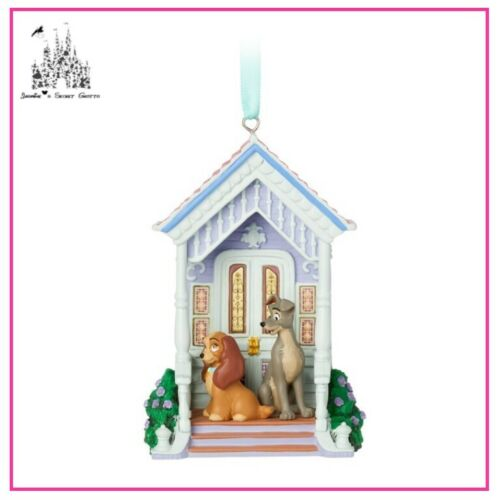 DISNEY LADY AND THE TRAMP SKETCHBOOK ORNAMENT BRAND NEW IN BOX