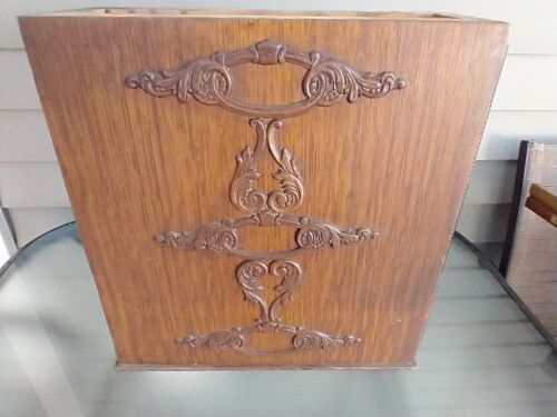 Antique 1911 #66 Singer Sewing Machine Triple Drawer Assembly LH Side Near Mint