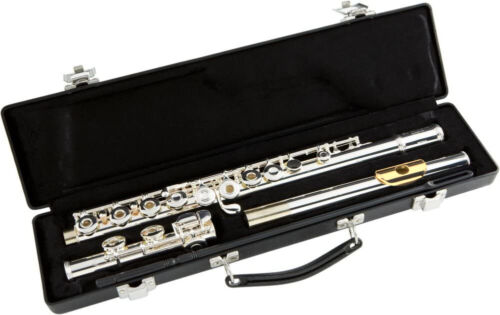 NEW Gemeinhardt 3O Silver-plated Flute, GOLD LIP, Open-Holes C-foot, offset-G 30 <br/> With our world-famous testing and setup, its the best!