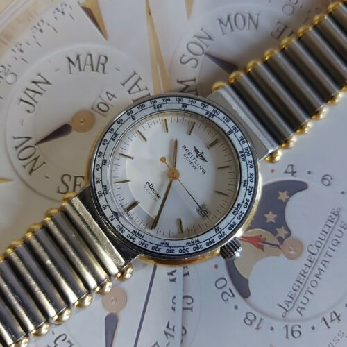 OROLOGIO BREITLING GENEVE ELLESSE DESIGN BY ARCHAP WATCH 82.270 STEEL/GOLD 330FT