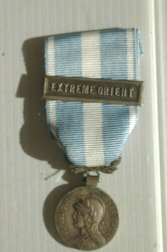 MEDAILLE COLONIALE AGRAFE EXTREME ORIENT