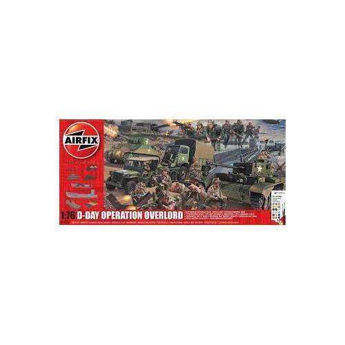 AIRFIX D-DAY 75TH ANNIVERSARY OPERATION OVERLORD GIFT SET - 58-50162A
