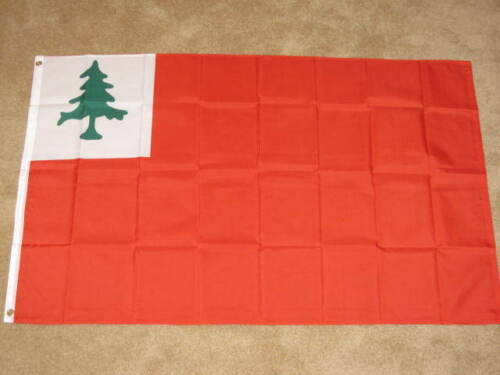 3X5 FLAG OF NEW ENGLAND CONTINENTAL BUNKER HILL F092Reenactment & Reproductions - 156378