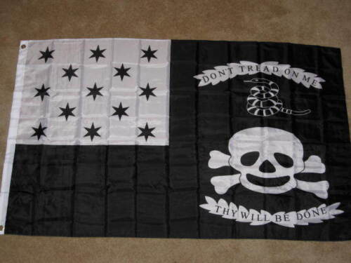 WAR OF 1812 FLAG 3x5 DON'T TREAD ON ME AMERICAN F914Reenactment & Reproductions - 156380