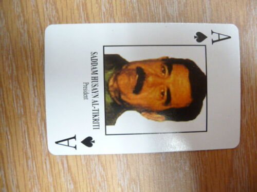 DESERT STORM ISSUE PLAYING CARDSOther Militaria - 135
