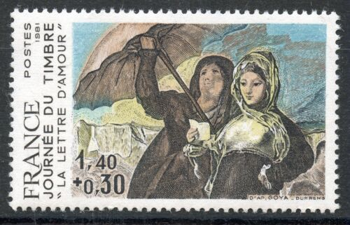 STAMP / TIMBRE FRANCE NEUF N° 2124 ** OEUVRE DE GOYA