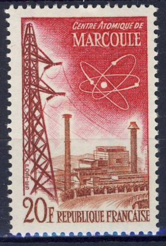 STAMP / TIMBRE FRANCE NEUF N° 1204 ** CENTRE ATOMIQUE MARCOULE