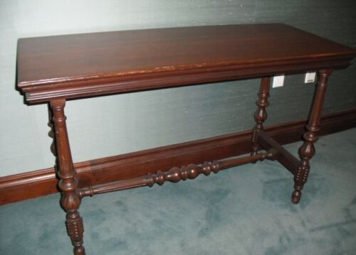 ANTIQUE Late19 Cen. HALE NY Side Table William & Mary