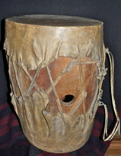 OLD TEPEHUAN  MEXICAN INDIAN DRUM
