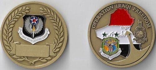 CHALLENGE COIN FIRE AND RESCUE CAMP ECHO IRAQ SAINT FLORIAN