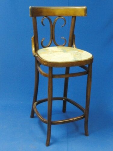 CHIC 70's THONET STOOL CHAIR MADE BY OTTO GERDAU MADE IN ITALY