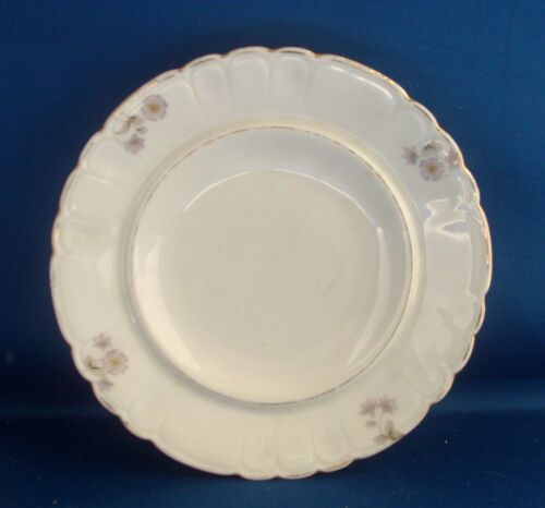 Antique German Porcelain Hand Painted Plate Tureen Stand Nantucket Provenance