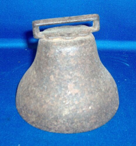 Antique 19th century Cow Bell Great Patina Wonderful Sound