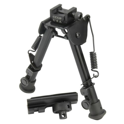 """CCOP USA 6"""" to 8"""" Heavy Duty Tactical Foldable Bipod Picatinny Rail Mount BP-79SBipods & Monopods - 73959"""