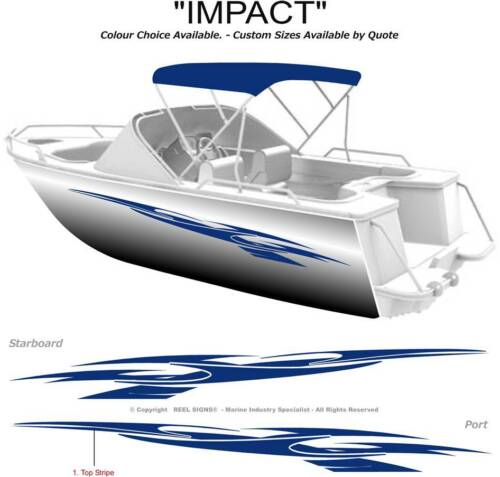 """Your Color Choice Ocean Yachts Decal Sticker Pair 2x 11/"""""""