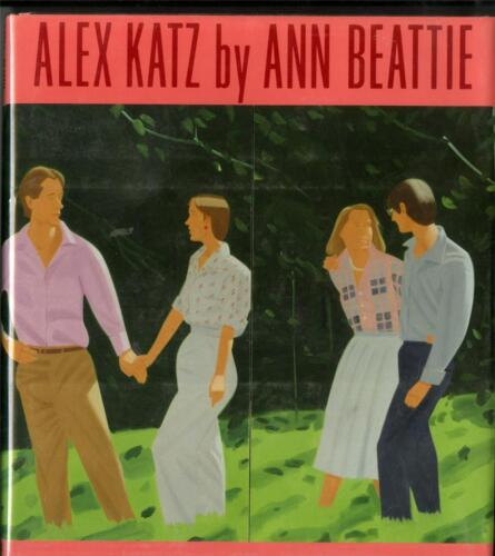 ALEX KATZ by Ann Beattie Hardback Book w/DJ Harry Abrams 1987 1st Ed 26 Illustr.