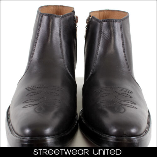 Streetwear Premium Geniune Leather Chelsea Boots Article 308 Black Hand Made