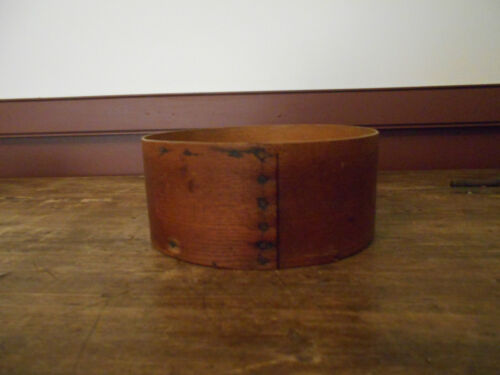 EARLY ANTIQUE PRIMITIVE PANTRY BOX - NO LID