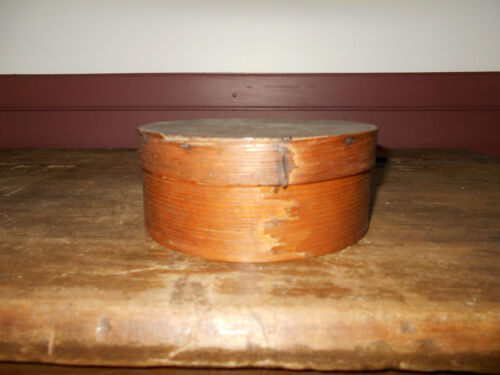 EARLY ANTIQUE PRIMITIVE PANTRY BOX