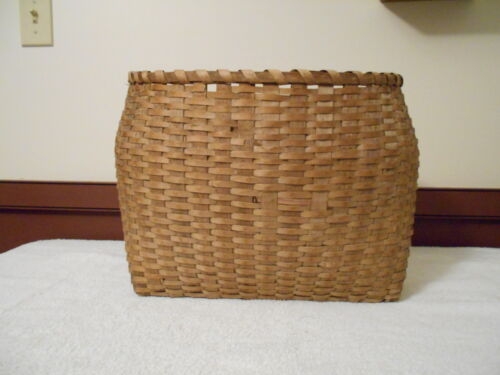 """WONDERFUL AND DIFFERENT LARGE EARLY ANTIQUE PRIMITIVE BASKET - """"MUST SEE"""""""