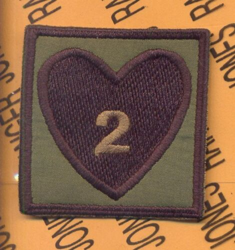 2-502 Inf 2nd Bde 101st Airborne HCI Helmet patch BOther Militaria - 135