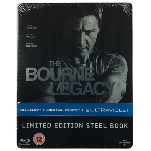 The Bourne Legacy Steelbook - Limited Edition Blu-Ray - Region Free