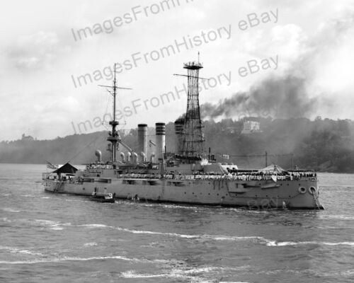 8x10 Print USS Ohio third ship of the United States Navy 1903 #567Reproductions - 156388